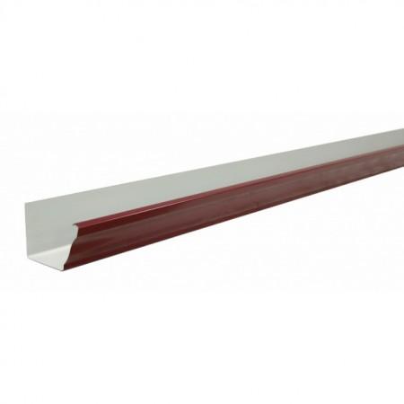 Желоб прямоугольный 2,5м Grand Line Vortex 127мм RAL 3005 - фото #1