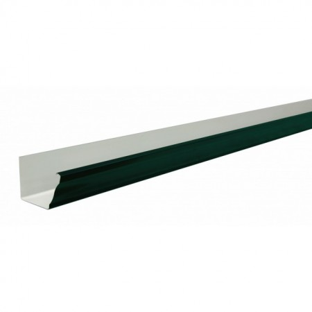 Желоб прямоугольный 2,5м Grand Line Vortex 127мм RAL 6005 - фото #1