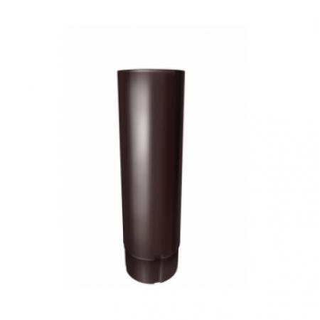 Труба круглая 90 мм 3м Grand Line RAL 8017 (Шоколад) - фото #1