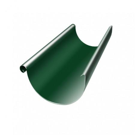 Желоб полукруглый 125 мм 3м Grand Line RAL 6005 (Зеленый мох) - фото #1