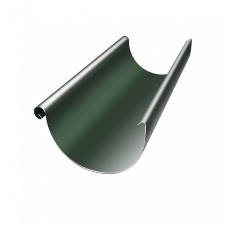 Желоб полукруглый 125 мм 3м Grand Line RR 11 (Темно-зеленый) - фото #1