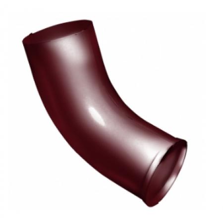 Колено стока Grand Line Optima 90мм RAL 3005 (Красное вино) - фото #1