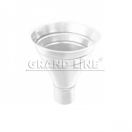 Воронка водосборная 250х90 Grand Line RAL 9003 (Сигнальный белый) - фото #1