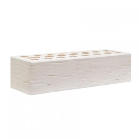 "Кирпич керамический М150-200 Kerma Color White Powder R 0,7 NF ""Рустик"""