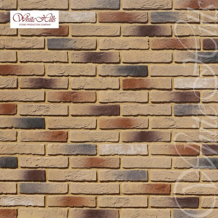 Декоративный кирпич White Hills Бергамо Брик 370-40 - фото