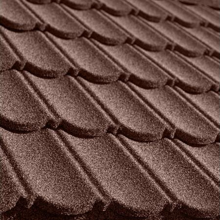 Композитная черепица Гранд Лайн Barcelona Какао - фото