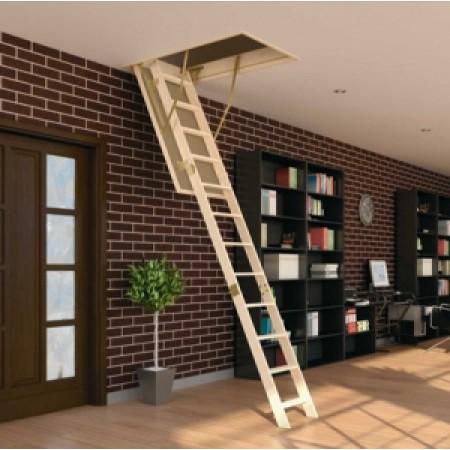 Чердачные лестницы - фото