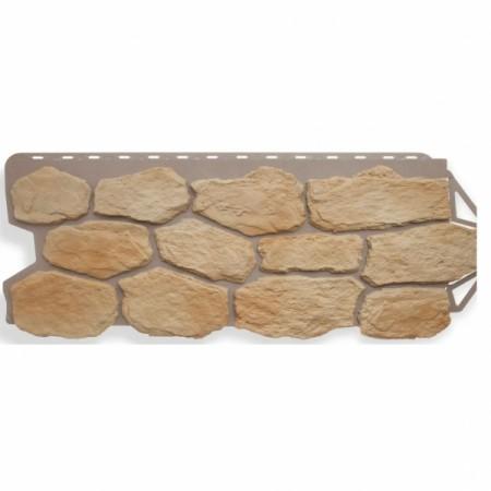 Фасадная (цокольная) панель Альта Профиль Бутовый камень Греческий - фото