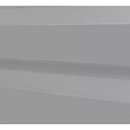 Металлический сайдинг МП 14х226 ПЭ RAL 7004 - фото #1