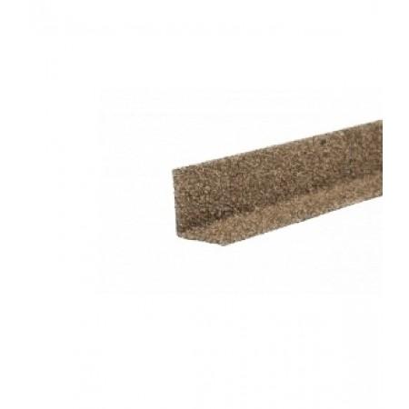 Уголок металлический внутренний Hauberk Песчаный - фото