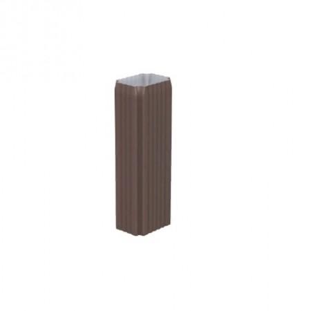 Труба водосточная Металл Профиль 76х102х3000 0,5 ПЭ - фото #1