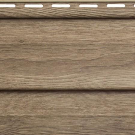 Сайдинг виниловый Альта профиль Карелия Корабельный брус Т-01 (3 х 0,230м) Орех - фото