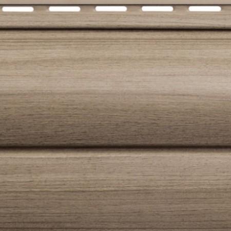 Сайдинг виниловый Альта профиль Карелия BlockHouse двойной BH-03 (3 х 0,226м) Орех - фото