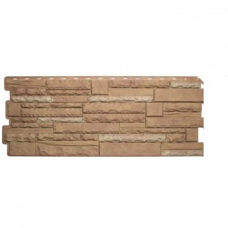 Фасадная (цокольная) панель Альта Профиль Скалистый камень Памир - фото