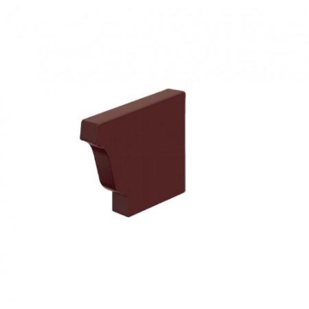 Заглушка желоба правая Металл Профиль 120х86 0,5 мм ПЭ - фото #1