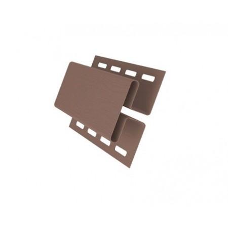 Профиль H соединительный 3,00 GL Темно-бежевый - фото #1