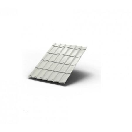 Металлочерепица МП Ламонтерра ПЭ 0,45 9002 Полиэстер - фото #1