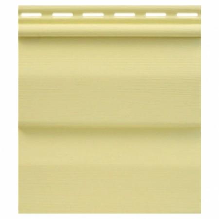 """Сайдинг виниловый Tecos """"Ardennes"""" Корабельный брус Светло-желтый - фото #1"""