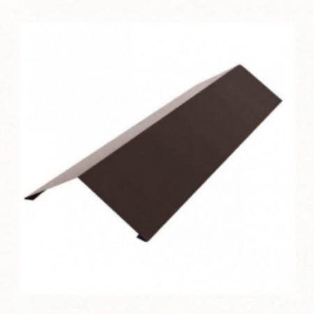 Планка конька плоского 190х190 Grand Line 0,5 PurLite Мatt - фото #1
