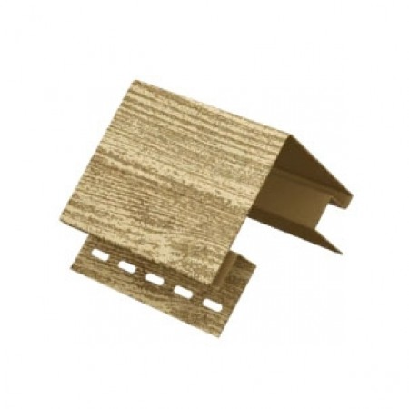 Наружный угол Ю-пласт Тимберблок Ель Балтийская - фото #1