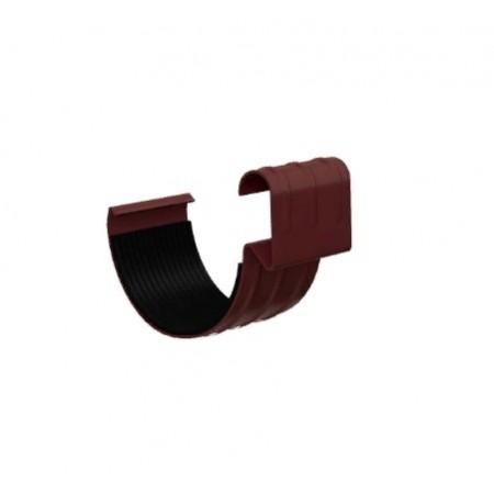 Соединитель желоба Металл Профиль D125 0,6 мм ПЛД - фото
