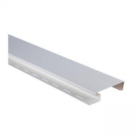 """Планка """"наличник широкий"""" Альта-Декор Белый 3050мм - фото #1"""