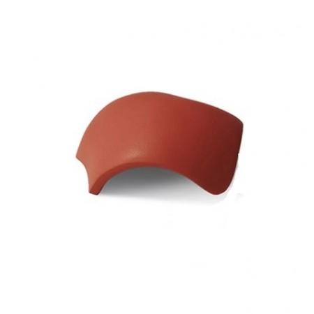 Вальмовая черепица Braas Саттель с зажимами Рубин 11V - фото #1