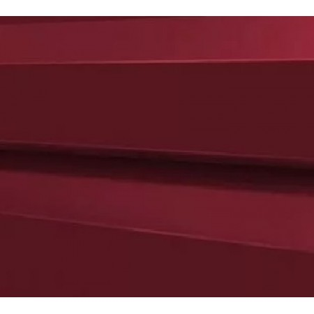 Металлический сайдинг МП 14х226 ПЭ RAL 3005 - фото #1