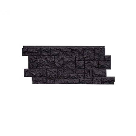 Фасадная панель NordSide Северный камень Шоколадный - фото