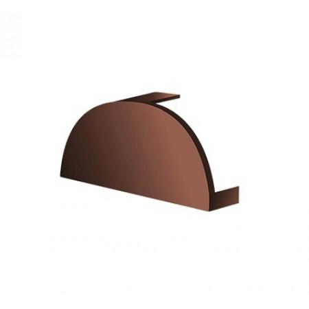 Заглушка конька круглого простая МеталлПрофиль CLOUDY - фото #1