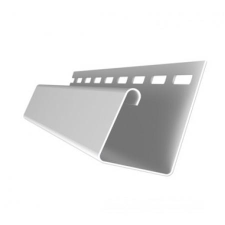 Профиль J универсальный 3,0 Grand Line белый - фото #1