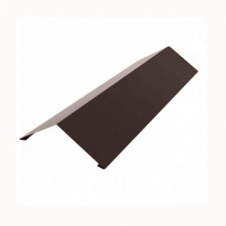 Планка конька плоского 190х190 Grand Line 0,5 GreenCoat Pural - фото #1