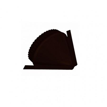 Заглушка конька круглого конусная МеталлПрофиль NormanMP - фото #1