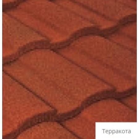 Лист композитной черепицы Tilcor Roman Терракота - фото #1