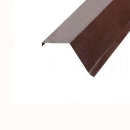 Планка торцевая 135х145х2000 МеталлПрофиль CLOUDY - фото #1