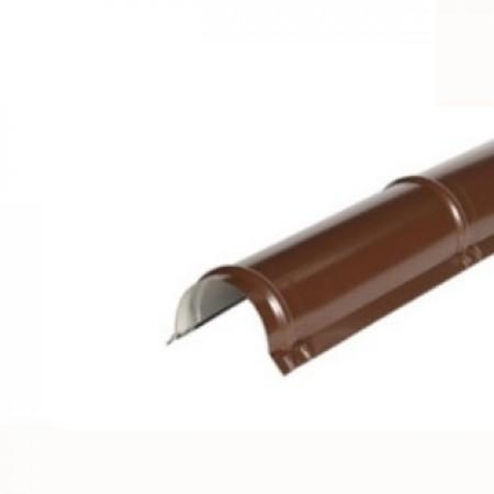 Планка конька круглого R 110х2000 МеталлПрофиль VikingMP Е - фото #1