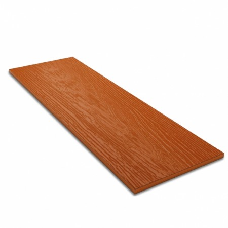 Фиброцементный сайдинг (панель) Decover Terracotta