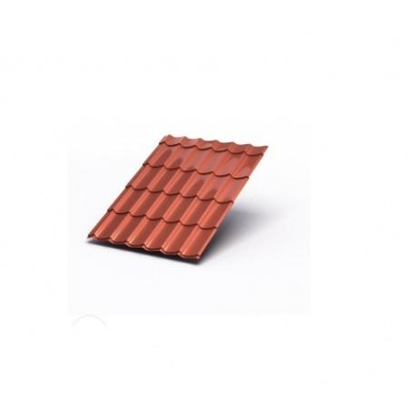 Металлочерепица МП Макси AGNETA 0,5 Copper Агнета - фото