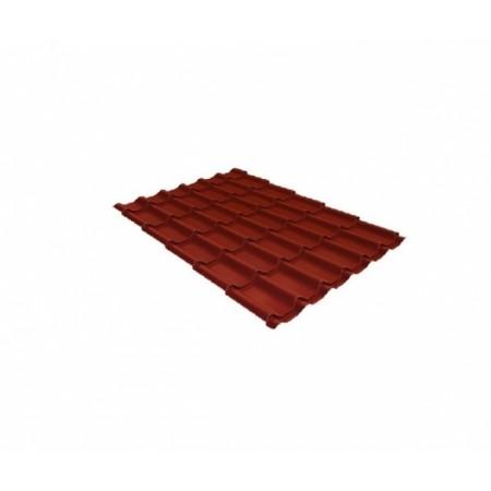 Металлочерепица Классик 0,45 Drap RAL 3009 Оксидно-красный - фото