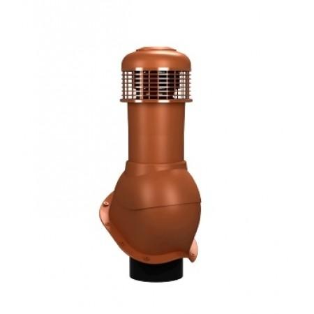 К-65 Вентиляционный выход НЕИЗОЛИРОВАННЫЙ (неутепленный) с электрическим вентилятором 305 куб.м./час D 150 мм H 500 мм - фото
