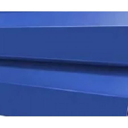 Металлический сайдинг МП 14х226 ПЭ RAL 5005 - фото #1