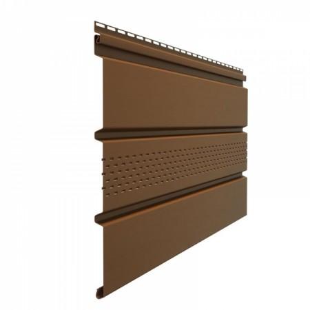 Софит Standard с центральной перфорацией Шоколад - фото