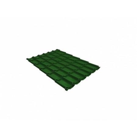 Металлочерепица Кредо 0,45 Polyester RAL 6002 Лиственно-зеленый - фото #1