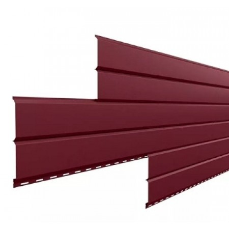 Металлический сайдинг Lбрус 15х240 ПРМ RAL 3005 - фото #1