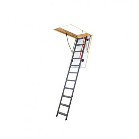 Лестница складная металлическая LMK 70*130*305