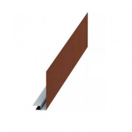 Планка карнизного свеса сложная 185х50х2000 МеталлПрофиль VikingMP Е - фото #1