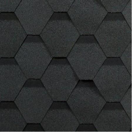 Гибкая черепица Shinglas Оптима Серый - фото