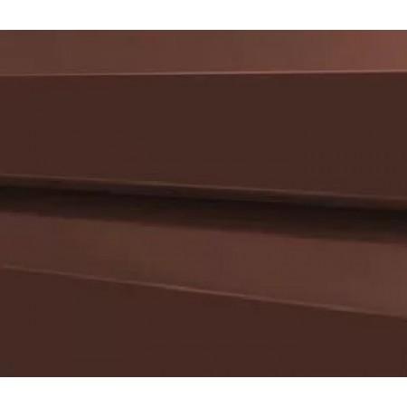 Металлический сайдинг МП 14х226 PURMAN RAL 8017 - фото #1