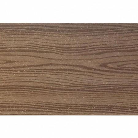 Террасная доска Holzhof Кольца дерева (Шовная) Коричневый - фото