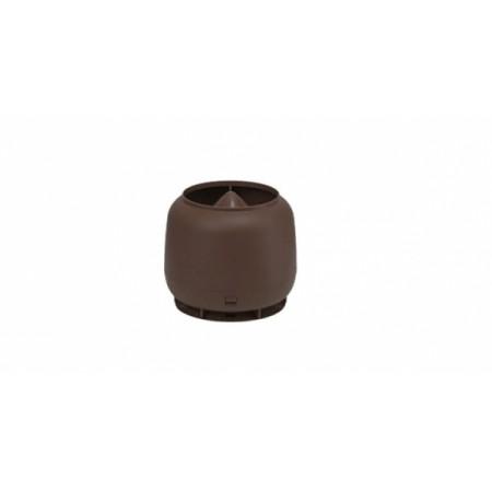Колпак ТехноНиколь D 110 RR коричневый - фото
